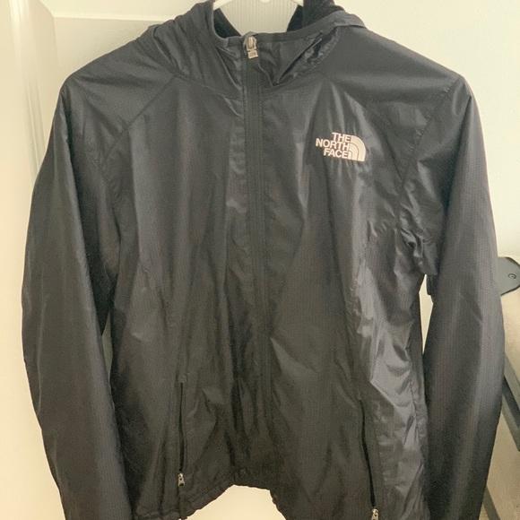 North Face Rain Jacket with Fleece Interior